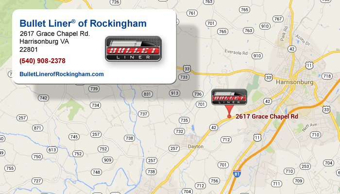 Get Directions To Bullet Liner Of Rockingham County